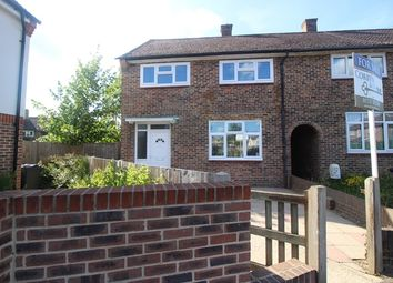 Thumbnail 3 bed end terrace house for sale in Purbeck Close, Merstham