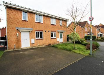 Thumbnail 3 bed semi-detached house for sale in Brampton Drive, Bamber Bridge, Preston