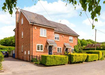 Thumbnail 3 bed end terrace house for sale in Cranstone Cottages, Church Lane, Ewshot, Farnham