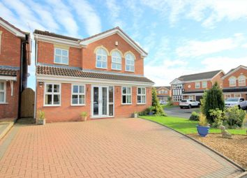 Thumbnail 4 bed detached house for sale in Boardman Crescent, Stafford