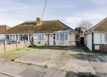 Thumbnail 3 bed bungalow for sale in Clarence Avenue, Wick, Littlehampton