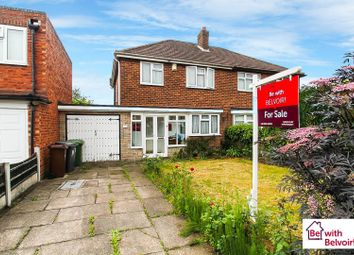 Thumbnail 3 bed semi-detached house for sale in Long Mill South, Wednesfield, Wolverhampton