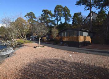 Thumbnail 2 bed lodge for sale in Tailrace Lodge, Parc Royale, River Tilt Leisure Park, Blair Atholl