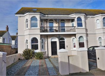 Thumbnail 3 bed flat for sale in Navarino Road, Worthing