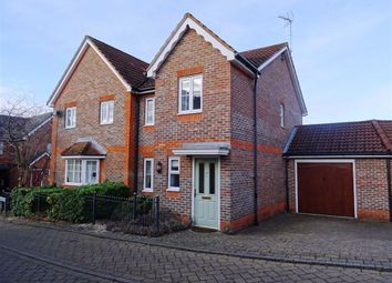 Thumbnail 3 bed semi-detached house to rent in Owletts Grove, Newbury