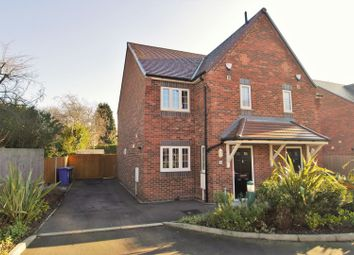 Thumbnail 3 bedroom semi-detached house for sale in Boythorpe Crescent, Chesterfield