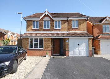 Thumbnail 4 bed detached house for sale in Kensington Close, Widnes