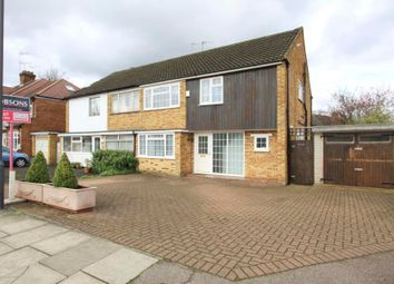 Thumbnail 3 bed semi-detached house to rent in George V Avenue, Pinner