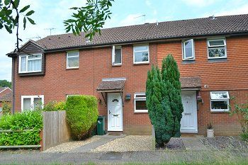 Thumbnail 2 bed terraced house to rent in St. Aubin Close, Crawley, West Sussex