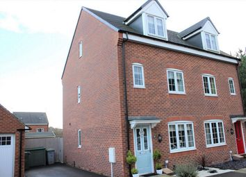 Thumbnail 3 bed town house to rent in St Stephens Road, Ollerton, Newark, Nottinghamshire