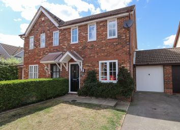 Thumbnail 3 bed semi-detached house for sale in Ardingly Crescent, Hedge End, Southampton