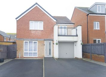 Thumbnail 4 bed detached house for sale in Celandine Gardens, Hartlepool