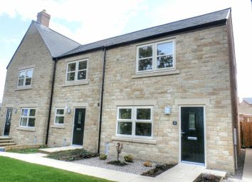 Thumbnail 3 bed terraced house to rent in Rookwood Gardens, Rothbury Road, Longframlington, Morpeth