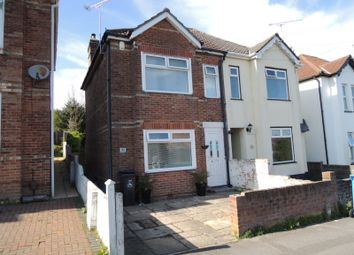 Thumbnail 2 bed semi-detached house to rent in Library Road, Parkstrone