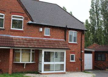 Thumbnail 3 bed semi-detached house to rent in Queens Road, Smethwick, West Midlands