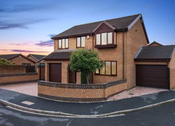 Thumbnail 4 bed detached house for sale in Parsley Hay Gardens, Sheffield