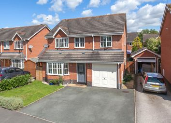 Thumbnail 4 bed property for sale in Aldersley Way, Ruyton Xi Towns, Shrewsbury