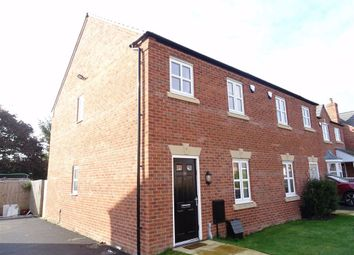 Thumbnail 3 bed semi-detached house to rent in Ryelands Crescent, Stoke Golding, Nuneaton