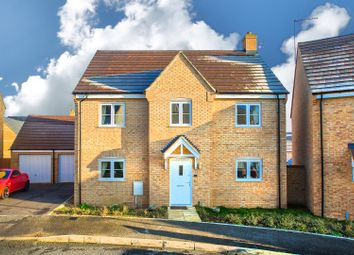 Thumbnail 4 bed detached house for sale in Savernake Drive, Little Stanion, Corby