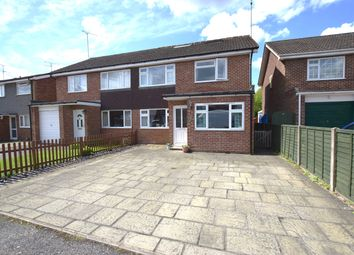 Thumbnail 5 bed semi-detached house for sale in Oaklea, Ash Vale