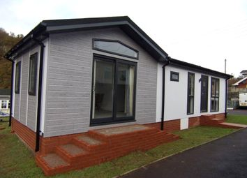 Thumbnail 2 bed mobile/park home for sale in St. Michaels Park, Railway Road, Cinderford, Gloucestershire