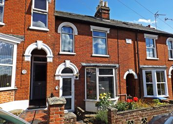 Thumbnail 3 bed terraced house for sale in Belle Vue Road, Ipswich