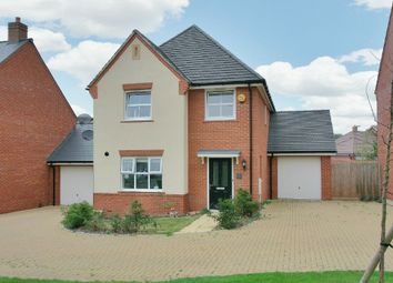 Thumbnail 4 bedroom detached house for sale in Fleece Close, Andover