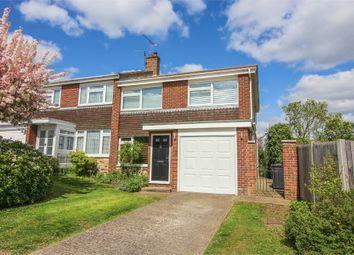 Thumbnail 3 bedroom semi-detached house to rent in Fairway, Sawbridgeworth, Hertfordshire