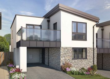 "Thumbnail 4 bed detached house for sale in ""The Tolcarne"" at Welway, Perranporth"