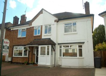 Thumbnail 3 bed semi-detached house to rent in Wilton Road, Hitchin