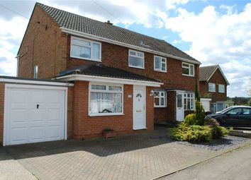 Thumbnail 3 bedroom semi-detached house for sale in Swinburne Avenue, Hitchin, Hertfordshire