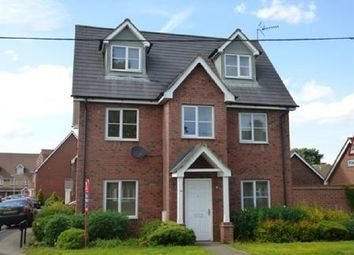 Thumbnail 4 bed detached house to rent in Wollaston Road, Irchester, Wellingborough
