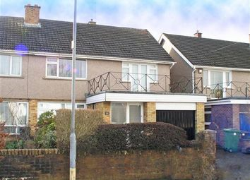 Thumbnail 4 bedroom semi-detached house to rent in Highfields, Llandaff, Cardiff