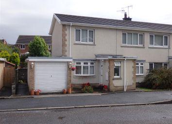 Thumbnail 3 bed semi-detached house for sale in Gwscwm Park, Pembrey, Burry Port
