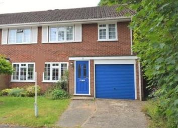 Thumbnail 3 bed semi-detached house to rent in Cheniston Close, West Byfleet, Surrey