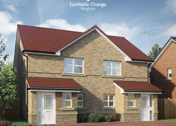 Thumbnail 2 bed semi-detached house for sale in Kilcruik Road, Kinghorn, Burntisland, Fife