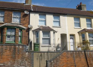 Thumbnail 2 bedroom terraced house to rent in Cheriton High Street, Cheriton, Folkestone