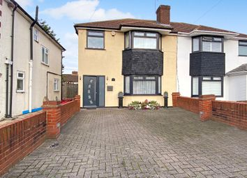 Thumbnail 3 bed semi-detached house for sale in Crest Gardens, South Ruislip, Middlesex