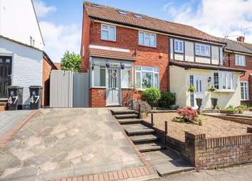 Thumbnail 4 bed semi-detached house for sale in Burney Drive, Loughton
