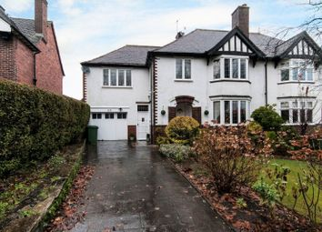 Thumbnail 4 bedroom semi-detached house for sale in Chatsworth Road, Chesterfield