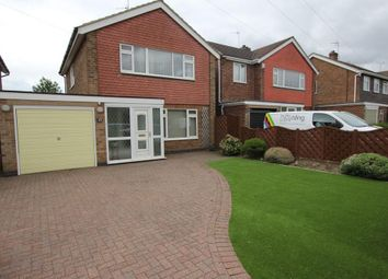 Thumbnail 3 bed detached house for sale in Salcombe Drive, Nottingham, Nottinghamshire