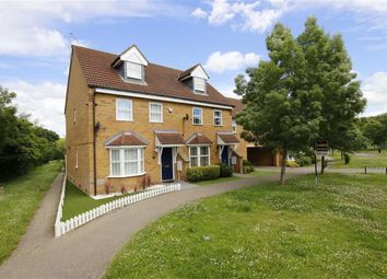 Thumbnail 3 bed town house for sale in Pascal Drive, Medbourne, Milton Keynes, Bucks