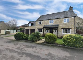 Thumbnail 4 bed detached house for sale in Maltings Court, Maltings Road, Gretton, Corby