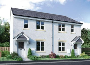 "Thumbnail 3 bedroom mews house for sale in ""Urquhart Mid"" at Broomhouse Crescent, Uddingston, Glasgow"