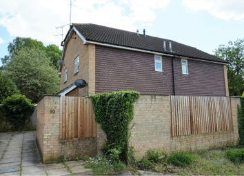 Thumbnail 1 bed end terrace house for sale in Coxmoor Close, Fleet