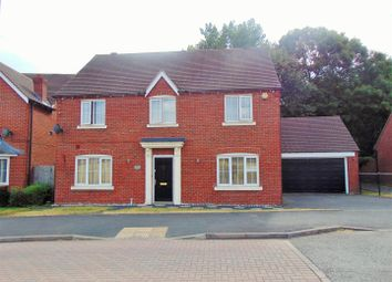 Thumbnail 4 bed detached house to rent in Harvest Fields Way, Sutton Coldfield