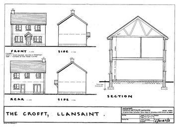 Thumbnail Land for sale in Y Croft, South Carmarthenshire, Llansaint