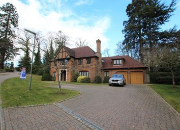 Thumbnail 5 bed detached house to rent in Chaworth Close, Ottershaw, Chertsey