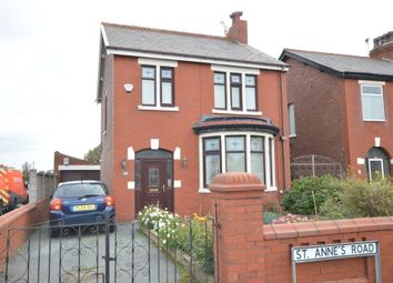 Thumbnail 3 bedroom detached house for sale in St. Annes Road, Blackpool