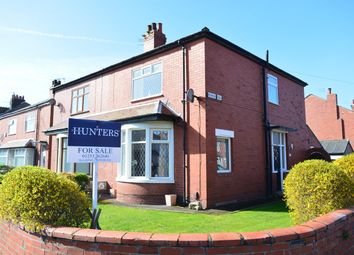 Thumbnail 3 bed semi-detached house for sale in Berwick Road, South Shore, Blackpool